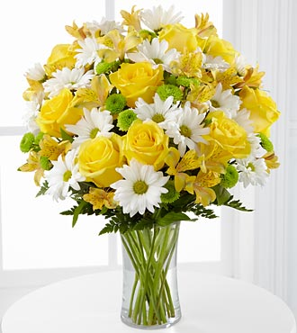 Sunny Sentiments Bouquet by FTD - PREMIUM