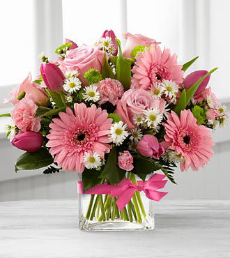 Birthday gifts for girlfriends - send flowers to her office