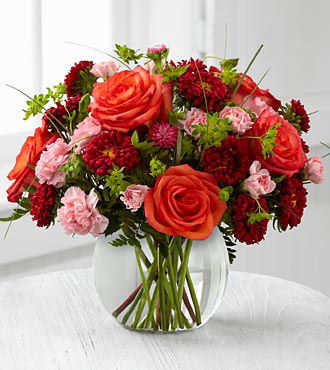 FTD Color Rush Bouquet by Better Homes and Gardens - DELUXE