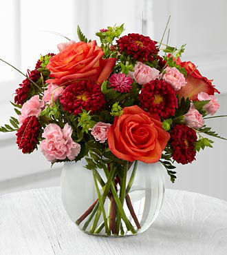 FTD Color Rush Bouquet by Better Homes and Gardens
