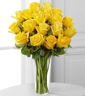 Yellow Rose Bouquet by FTD - DELUXE