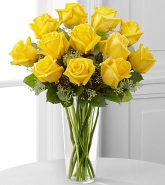 Yellow Rose Bouquet by FTD - E7-4808