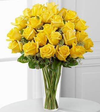 Yellow Rose Bouquet by FTD - PREMIUM
