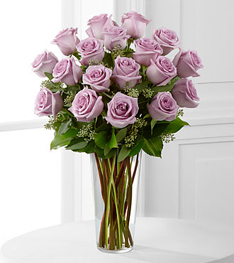 Lavender Rose Bouquet by FTD - DELUXE