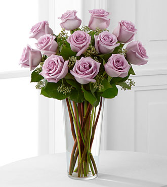 Lavender Rose Bouquet by FTD - E3-4811