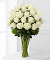 Image of Premium version for White Rose Bouquet by FTD