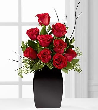 FTD Contemporary Rose Bouquet - DELUXE