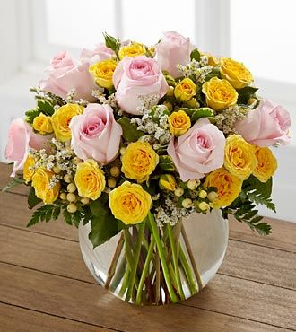 FTD Soft Serenade Rose Bouquet - DELUXE