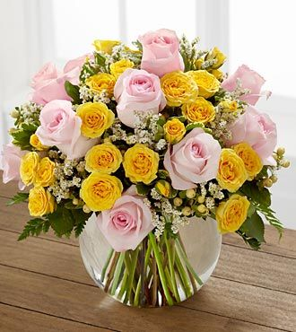 Soft Serenade Rose Bouquet by FTD - PREMIUM