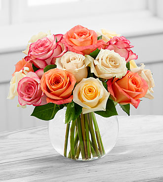 Sundance Rose Bouquet by FTD - E9-4817