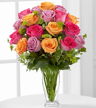 FTD Pure Enchantment Rose Bouquet - DELUXE