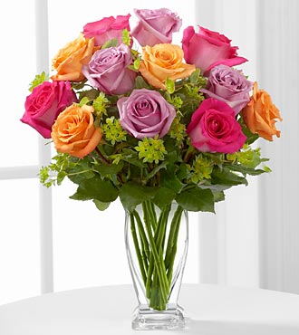 Pure Enchantment Rose Bouquet by FTD