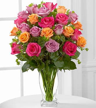 FTD Pure Enchantment Rose Bouquet - PREMIUM
