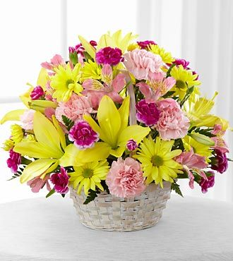 FTD Basket of Cheer Bouquet - PREMIUM