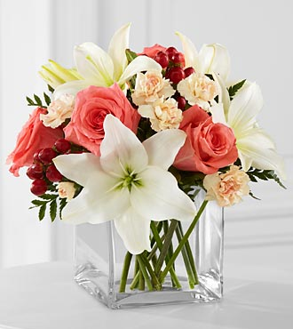 Discount Flower Delivery on Ftd Blushing Beauty Bouquet   Birthday Flowers   Flowers Fast