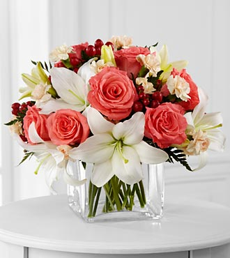 FTD Blushing Beauty Bouquet - PREMIUM