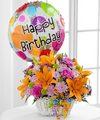 Happy Blooms Basket By Ftd Premium