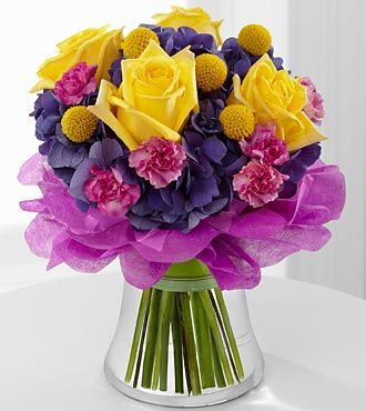 FTD Colors Abound Bouquet - DELUXE