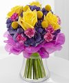 Image of Deluxe version for FTD Colors Abound Bouquet