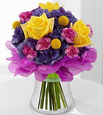 FTD Colors Abound Bouquet