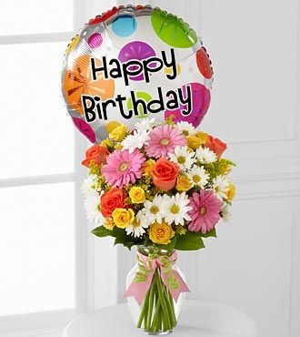 FTD Birthday Cheer Bouquet - DELUXE