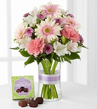FTD Sweeter Than Ever Bouquet with Chocolates