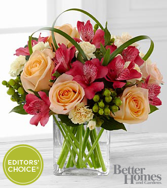 FTD All Aglow Bouquet by Better Homes and Gardens - DELUXE