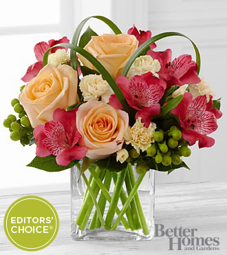 FTD All Aglow Bouquet by Better Homes and Gardens