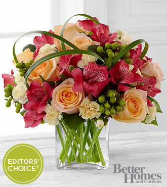 FTD All Aglow Bouquet by Better Homes and Gardens - PREMIUM