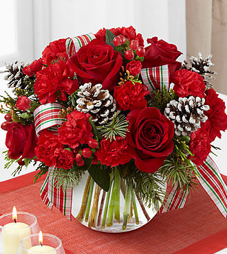 Ftd Christmas Peace Bouquet Deluxe Same Day Delivery