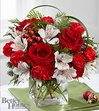 Ftd Holiday Hopes Bouquet By Better Homes And Gardens