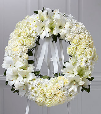 FTD Wreath of Remembrance - S5-4978S