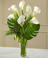 Image of Deluxe version for FTD Always Adored Calla Lily Bouquet