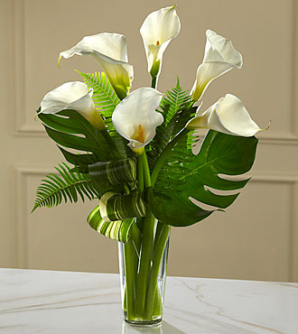 FTD Always Adored Calla Lily Bouquet - S3-4985