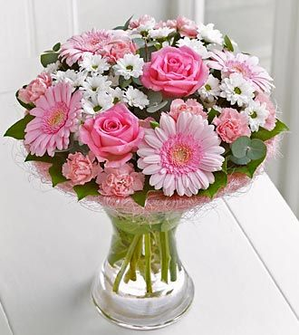 Pink Perfect Gift - Vase Included - Birthday Flowers - Flowers Fast