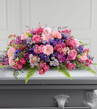 FTD Glorious Garden Casket Spray - S27-5004S