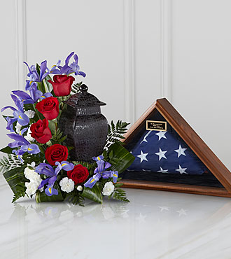 FTD Patriotic Tribute Arrangement - S43-5025S