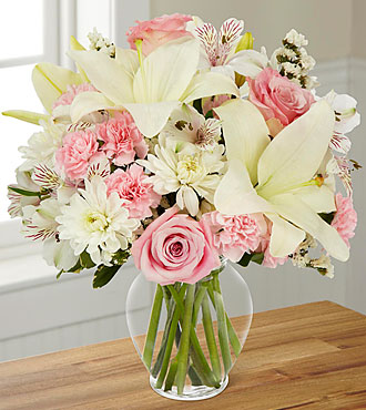 FTD Pink Dream Bouquet - DELUXE