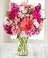 Image of Deluxe version for FTD Blushing Beauty Bouquet
