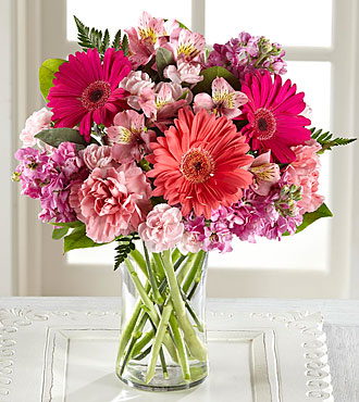 Ftd Blushing Beauty Bouquet Same Day Delivery Flowers Fast