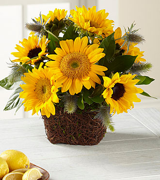 Ftd Perfect Sun Bouquet Same Day Delivery Flowers Fast