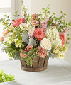 Image of Deluxe version for FTD Bountiful Garden Bouquet