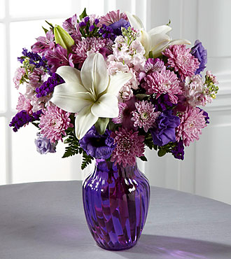 FTD Shades of Purple Bouquet - C17-5187