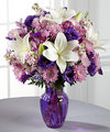 Image of Premium version for FTD Shades of Purple Bouquet