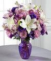Ftd Shades Of Purple Bouquet Premium