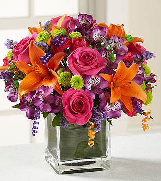 FTD Birthday Cheer Bouquet - PREMIUM