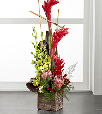 FTD Tropical Bright Arrangement - C25-5192S