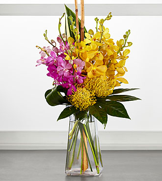 FTD Touch of Tropics Bouquet - PREMIUM