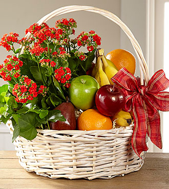 FTD Garden's Paradise Basket