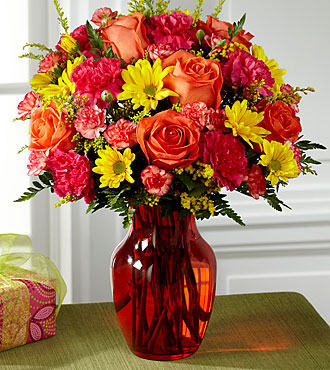 FTD Colors Abound Bouquet - PREMIUM